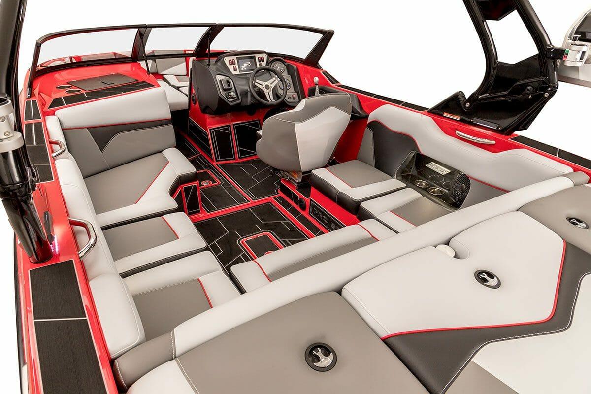 Red Supreme ZS212 full interior view
